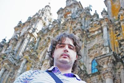 El autor en Galicia